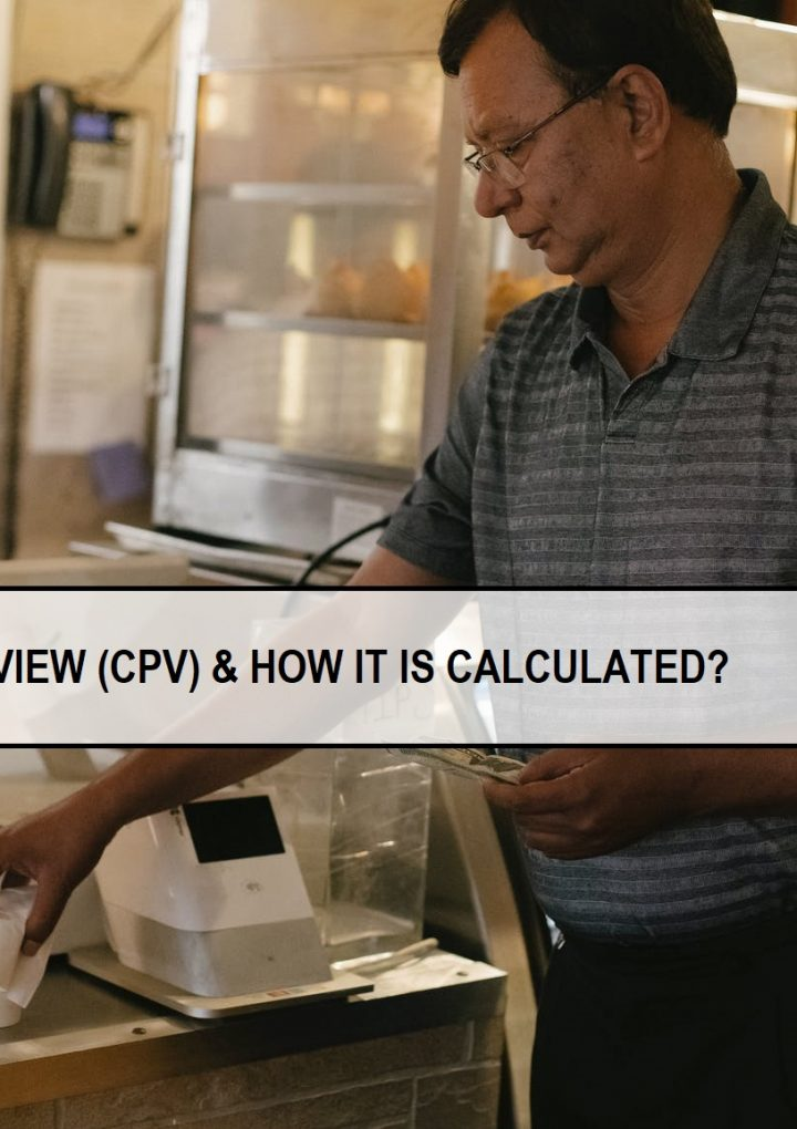 WHAT IS COST PER VIEW (CPV) & HOW IT IS CALCULATED?